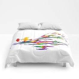 Splashing Comforters