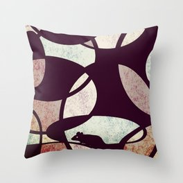 Bubble and Squeak Throw Pillow