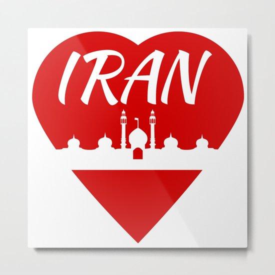 Iran Metal Print