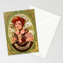 La fée verte Stationery Cards