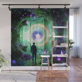 Forest Orb Wall Mural