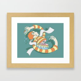 Put Yourself Back Together Again Framed Art Print