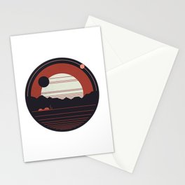Solitude Space Stationery Cards