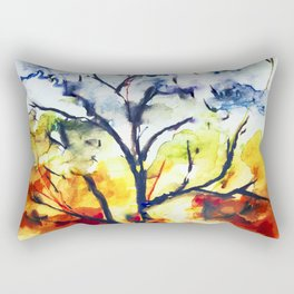 Chakra Tree of Life Rectangular Pillow