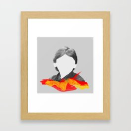 I'm Ron by the way, Ron Weasley. Framed Art Print