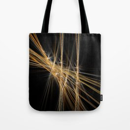 Firecracker | Geometric Line Abstract Tote Bag