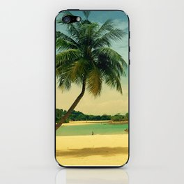 I'm on holiday iPhone Skin
