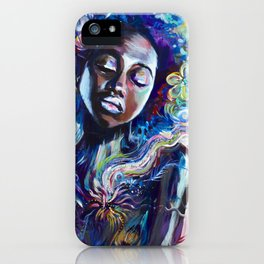CREATED WITH INTENTION iPhone Case