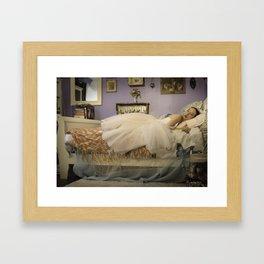 The Sylph Unwinds (II) Framed Art Print