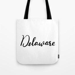 Delaware (DE; Del.) Tote Bag
