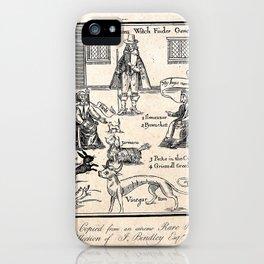 Matthew Hopkins, Witchfinder general iPhone Case