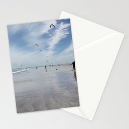 Windy days on the beach- travel photography- Cape Town Stationery Cards