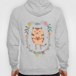 Cute lovely cat Hoody