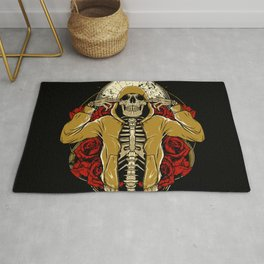 Hip Hop and Roses Rug
