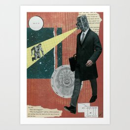 Observation Art Print