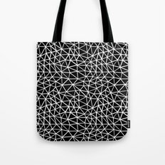 Seg R Black Tote Bag
