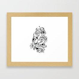 Contagious Framed Art Print