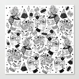 Las Chulas Canvas Print