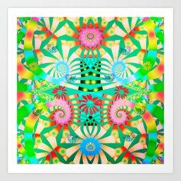 Joyful spring  Art Print