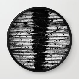 Paved With Ash...Goodbye. Wall Clock