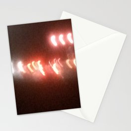 Abstracte Light Art in the Dark 9 Stationery Cards
