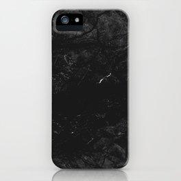 Luxury Black Marble iPhone Case
