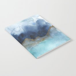 Mystic abstract watercolor Notebook