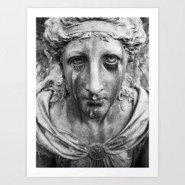 Miseria Art Print