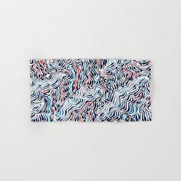 black topography Hand & Bath Towel