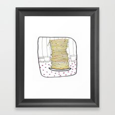 Pancakes Framed Art Print