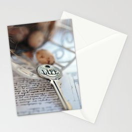 The Key to Life Stationery Cards