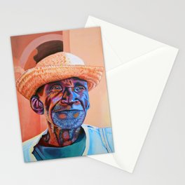 His smile Stationery Cards