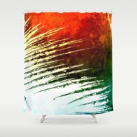 leaf Shower Curtains featuring Leaf by Alexandre Reis