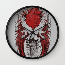 Lust of heart Wall Clock