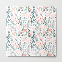 Flower and Foliage {part 1} Metal Print
