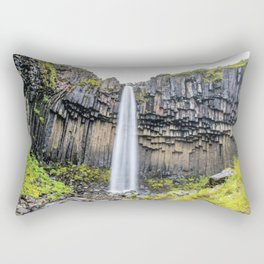 Smooth Svartifoss Rectangular Pillow