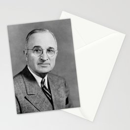 Harry Truman - 33rd President of the United States Stationery Cards