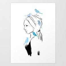 A Portrait Art Print