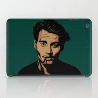 johnny depp iPad Cases featuring johnny depp by pexkung