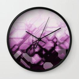 future fantasy spellbinding Wall Clock