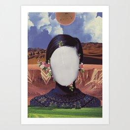 COSMIC PORTRAITS//01 Art Print
