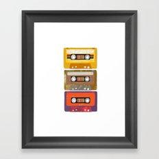 play my music Framed Art Print