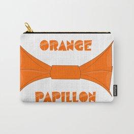 ORANGE PAPILLON Carry-All Pouch