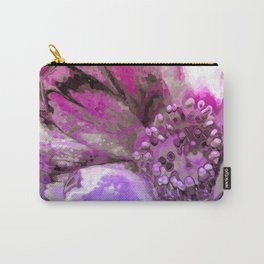 In Sunlight, Petunia Reflections Carry-All Pouch