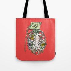 Grenade Garden Tote Bag