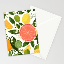 Punch Bowl Pattern Stationery Cards