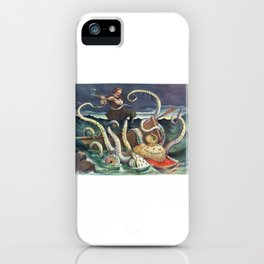 The Struggle of the Slav iPhone Case
