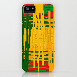 Crayon Invaders iPhone Case