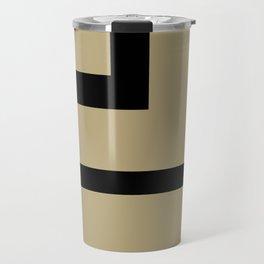 Black and Tan 2 #Society6 #abstract #buyart Travel Mug