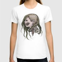 gore T-shirts featuring Gore Girl by Savannah Horrocks